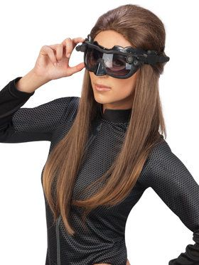 Catwoman Deluxe Goggles Mask