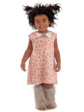 Cave Baby Girl Costume For Toddlers 18M - 2T