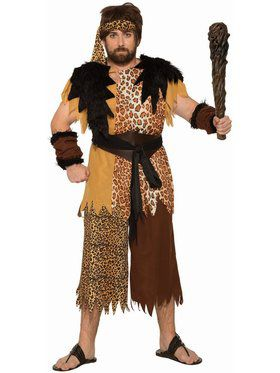 Cave Man - Plus Adult Costume