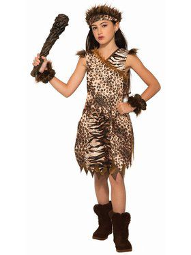 Cave Princess Child Costume