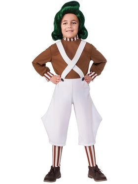 Charlie and the Chocolate Factory Child Oompa Loompa Costume