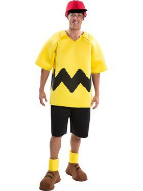Charlie Brown - Charlie Brown Deluxe Adult Costume