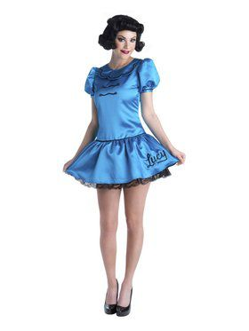 Charlie Brown - Deluxe Lucy Adult Costume