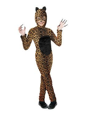 Cheetah Cat Costume for Girls
