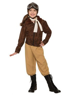 Amelia Earhart Costume for Kids
