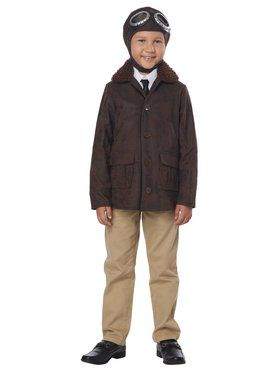 Child American Aviator Costume