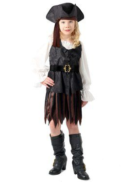 Child Anne the Pirate Maiden Costume