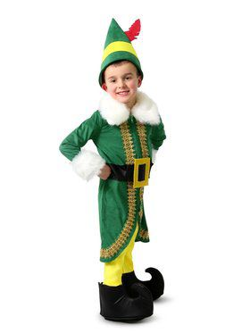 Kid's Buddy the Elf Costume