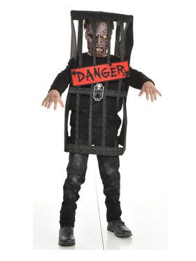 Child Caged Zombie Costume