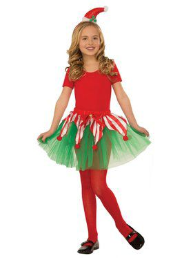 Child Candy Cane Tutu