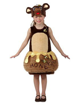 Child Candy Catchers Bear in the Honey Pot Costume