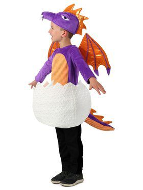 Child Candy Catchers Hatching Dragon Costume