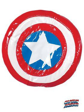 Avengers Assemble - Child Captain America Plush Shield