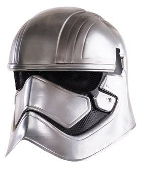 Star Wars: The Force Awakens - Captain Phasma Full Helmet For Kids