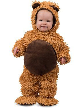 Child Chenille Teddy Bear Costume