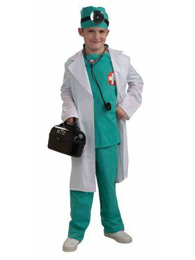 Child Chief Surgeon Costume