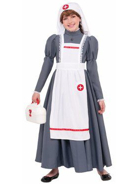 Child Civil War Nurse Adult Costume