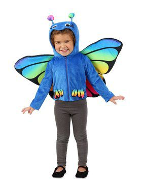 Child Colorful Flutterby Jacket