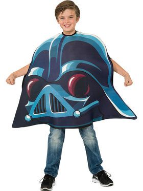 Child Darth Vader Angry Bird Costume