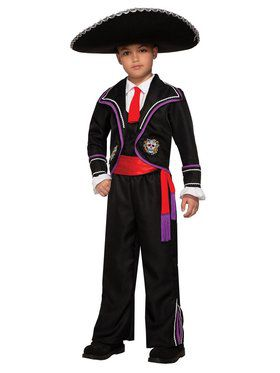 Child Day Of Dead-Macabre Costume