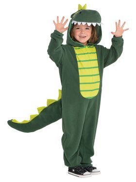 Onesie Dinosaur Child Costume