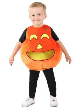 Child Feed Me Pumpkin Costume
