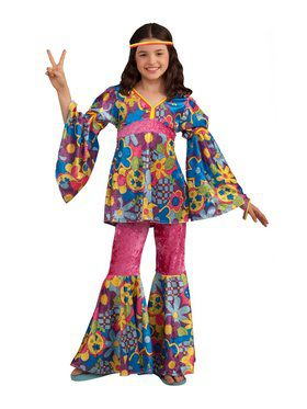 Child Flower Power Costume