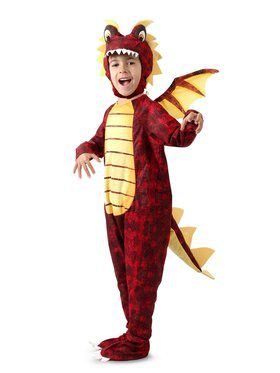 Child Fuego the Dragon Costume