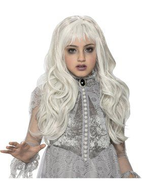 Child Ghost Wig