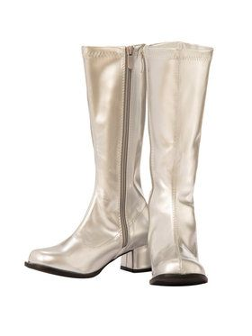 Silver Child GoGo Dancer Boot
