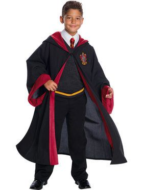 Harry Potter Gryffindor Student Boy's Costume