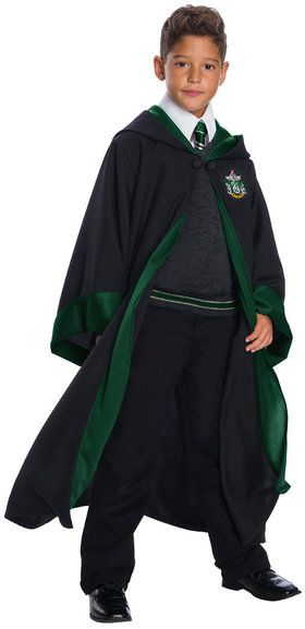 Harry Potter Slytherin Student Costume For Children