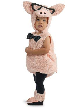 Child Hipster Pig Costume