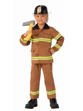 Junior Fireman Child Costume
