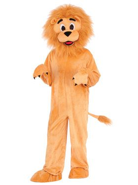 Lion Child Mascot Costume