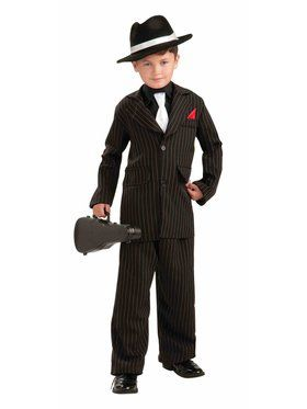 Child Littlest Gangster Costume