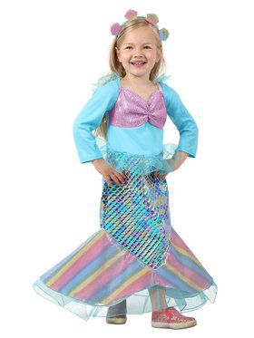 Child Littlest Mermaid Costume