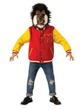 "Child Michael Jackson Thriller ""Werewolf"" Jacket and Mask Set"