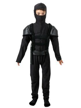 Child Midnight Master Ninja Costume