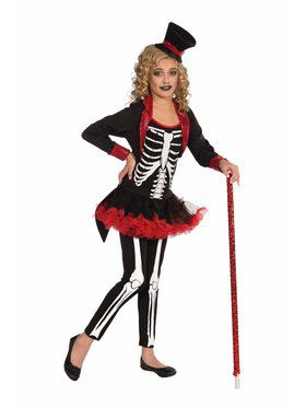 Child Miss Bone Jangles Costume