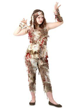 Teen Mystifying Mummy Costume