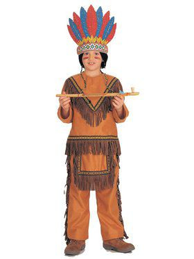 Child Native American Boy Costume