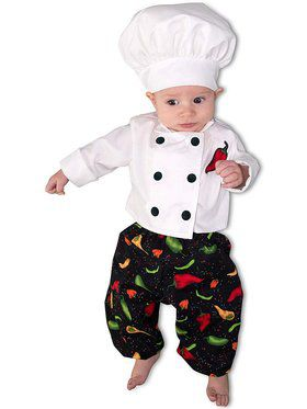 Child Newborn Chef Costume
