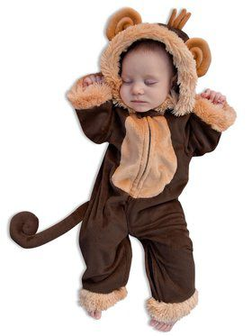 Child Newborn Milo the Monkey Costume