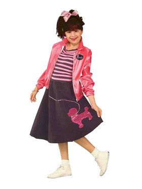Child - Nifty Fifties Med Child Costume