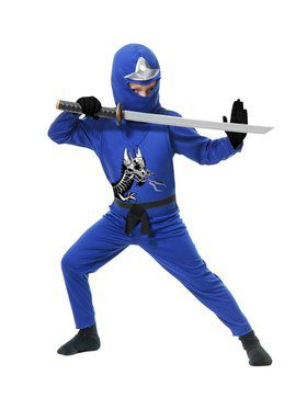 Ninja Avenger Series Ii Child Blue