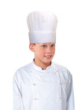 Child Paper Chef Hat