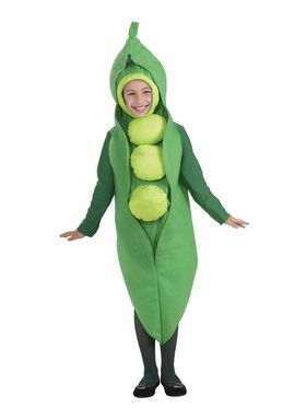 Child Pea Costume