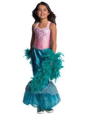Child Pink Mermaid Child Costume