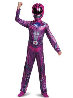 Pink Power Ranger Classic Child Costume